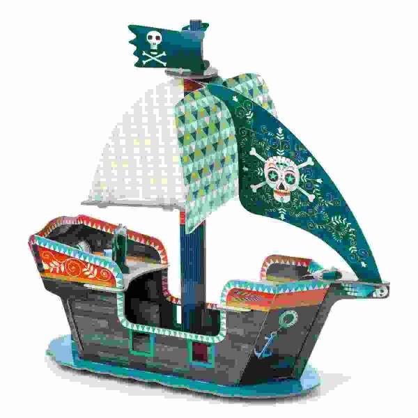 DJECO Pop to play: Piratenschiff 3D