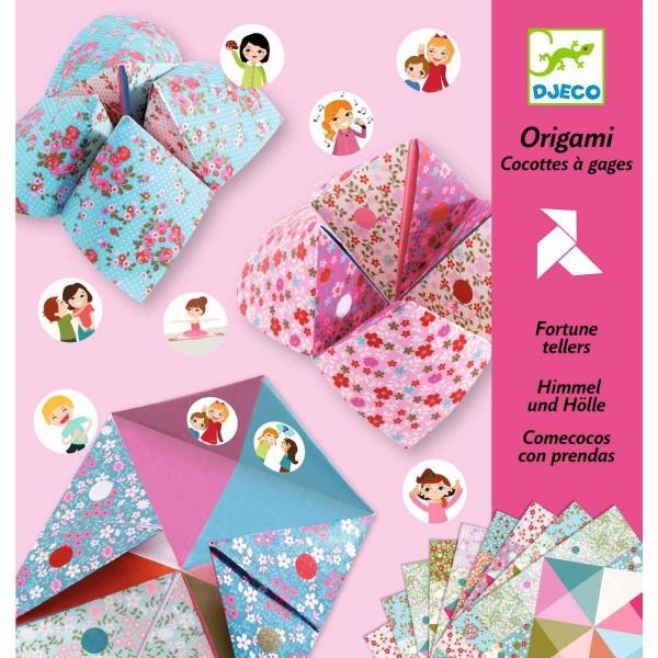 DJECO Origami Himmel und Hölle Blumen