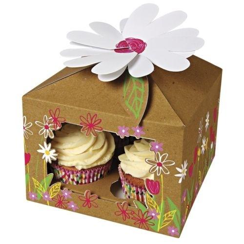 Little Garden Cupcake Box