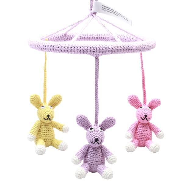 NATUREZOO DENMARK Mobile - Rabbit girls