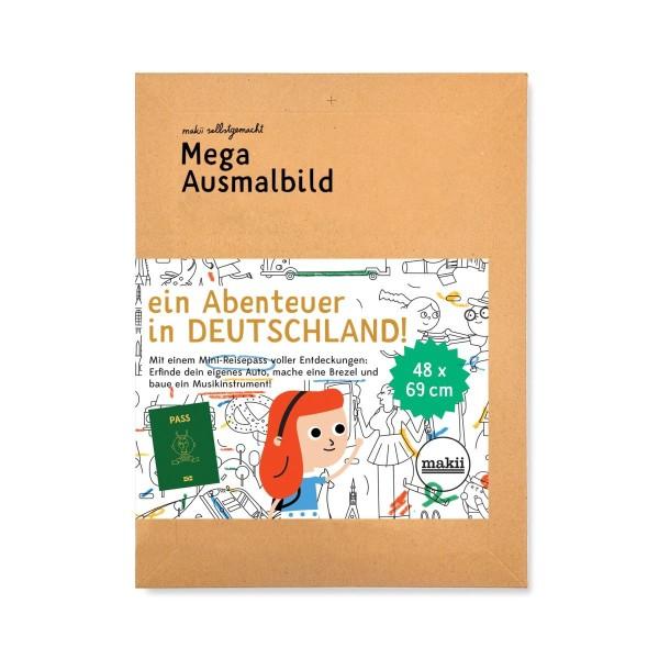 Mega Makii Ausmalbild Deutschland