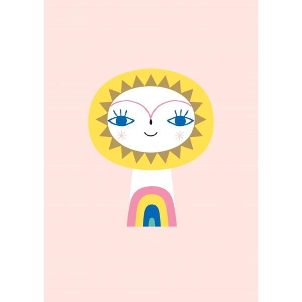 Postkarte Sonne