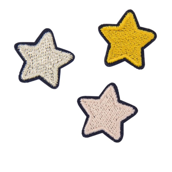 Anstecknadeln 3 Sterne
