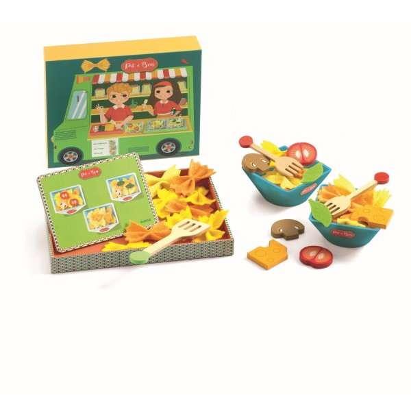 Kinderküche: Pat&Ben Pasta