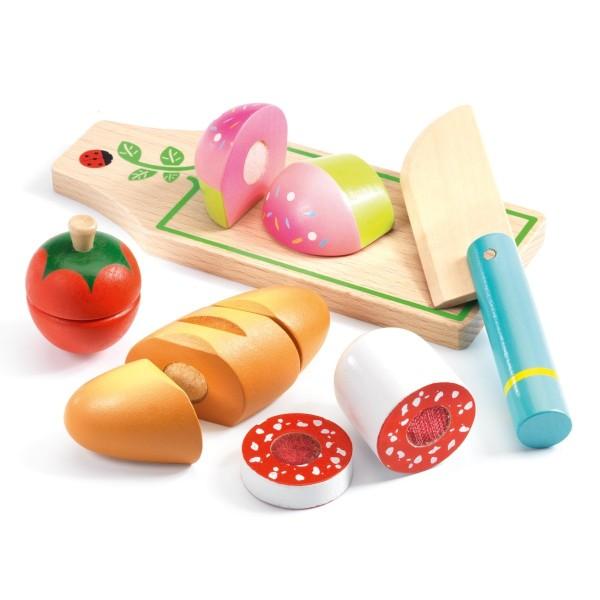 Kinderküche: Mittagessen zum schneiden