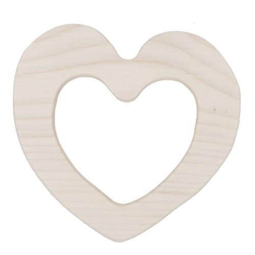Beißring aus Holz - Love (FSC)