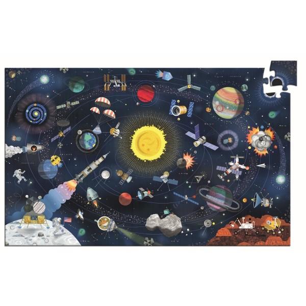 Puzzle: Der Weltraum - 200 Teile + booklet