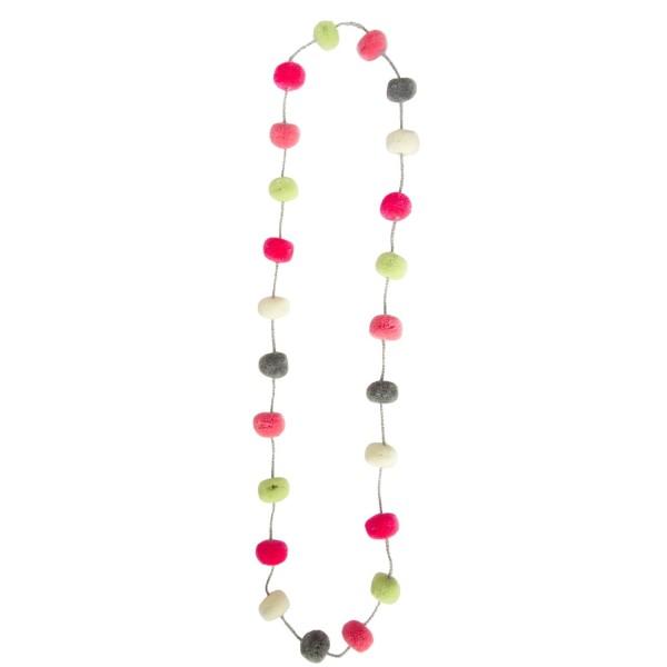 Halskette Peru Pom Soft