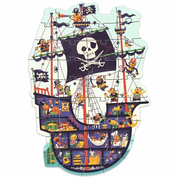 Puzzle: Das Piratenschiff - 36 Teile
