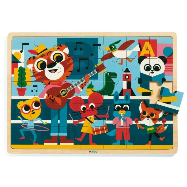 Holz Puzzle: Puzzlo Music