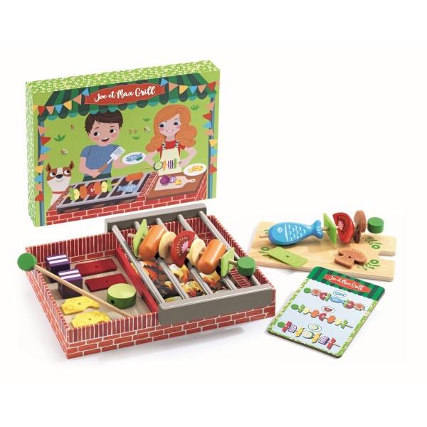 Rollenspiel Kinderküche: Joe & Max grillen