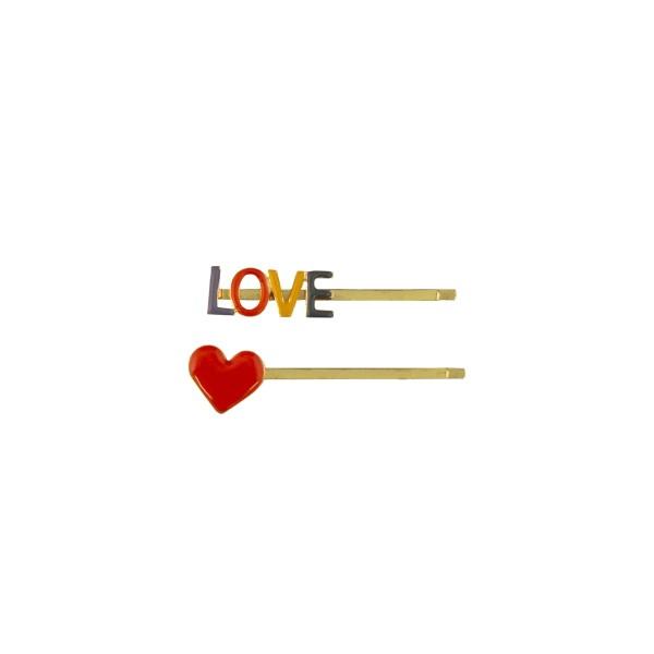 GLOBAL AFFAIRS Haarnadel LOVE