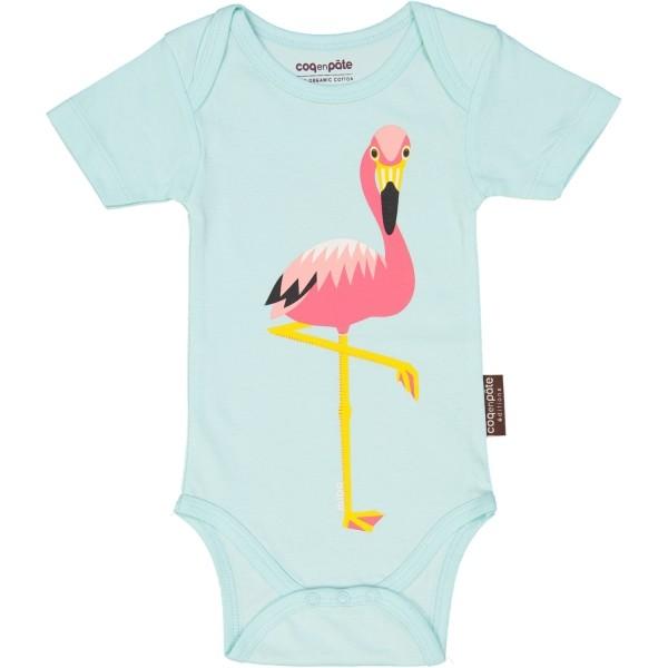 Body kurzarm Flamingo