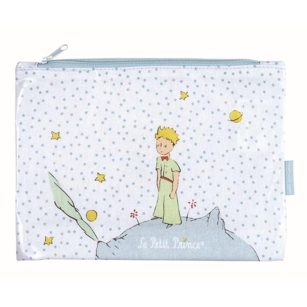 Grosses Schreibzeug-Etui mit Sternen