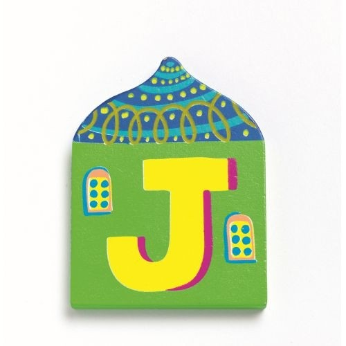 "DJECO Buchstabe Haus ""J"""