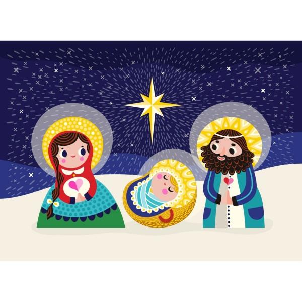 Postkarte Maria & Joseph