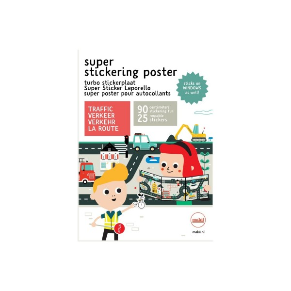 Super Sticker Leporello Verkehr