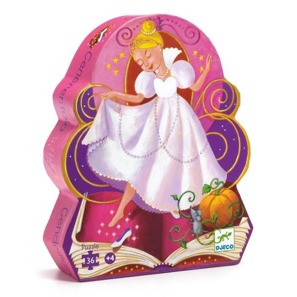 DJECO Puzzle: Cinderella - 36 Teile