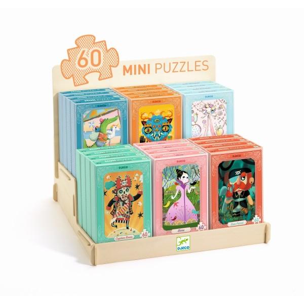 Display Mini Puzzles bestückt