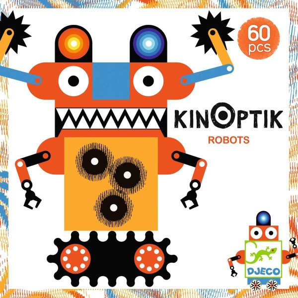DJECO Kinoptik: Robots - 60Teile