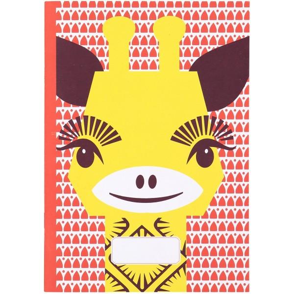 Notizbuch - A5 - MIBO - Giraffe