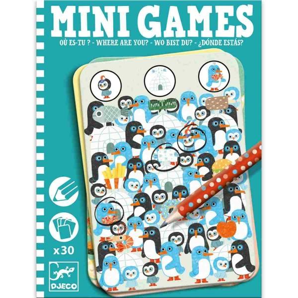 DJECO Mini Spiele: Wo bist du?