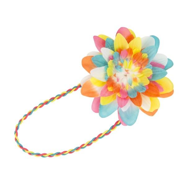 Haarband Blume multi
