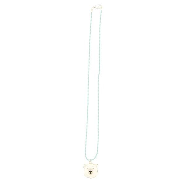 Halskette Eisbär