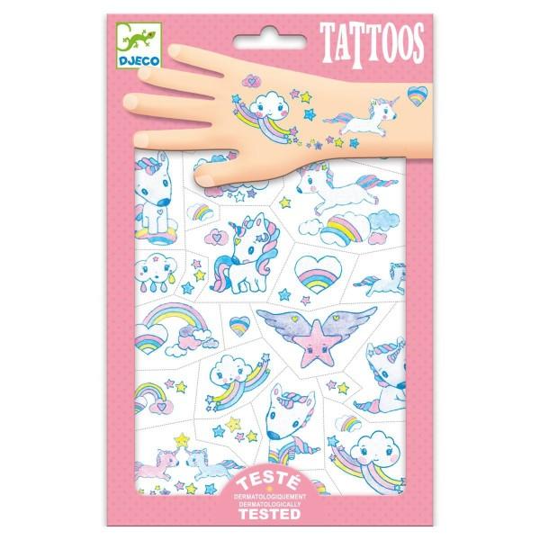 DJECO Tattoos: Einhörner