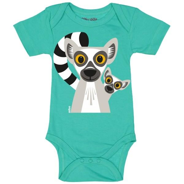 Body kurzarm Lemur