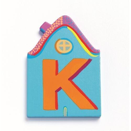 """Buchstabe Haus """"K"""""""