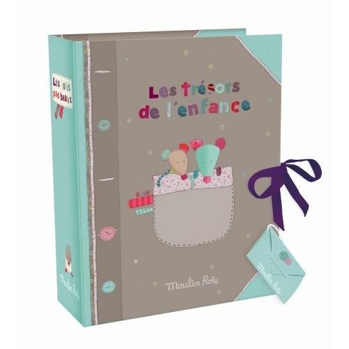 MOULIN ROTY Geburts Geschenke Box - FRANZÖSISCHE VERSION