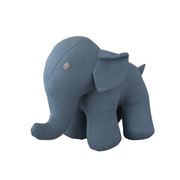 Kuscheltier Elefant grau