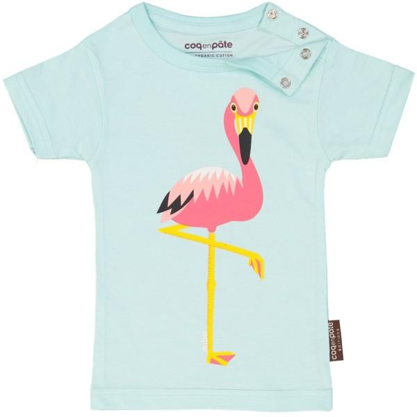Kurzarm T-Shirt Flamingo 1 Jahr