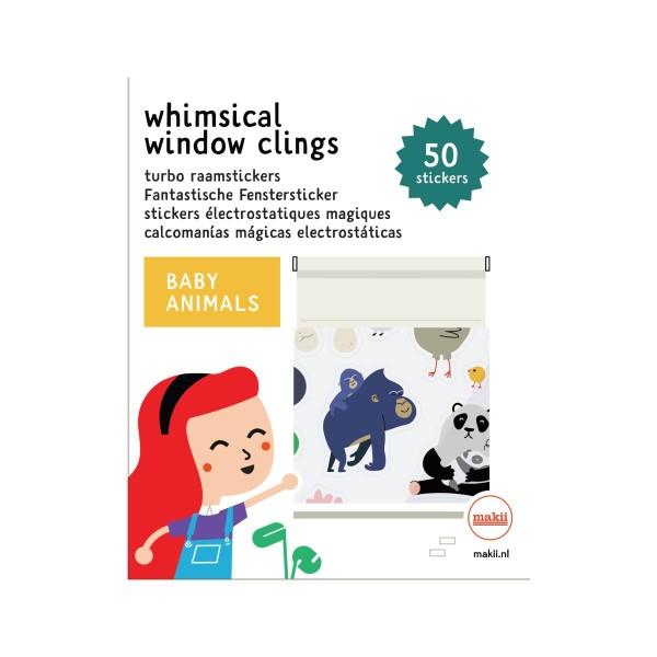 Fenstersticker Tierbabys