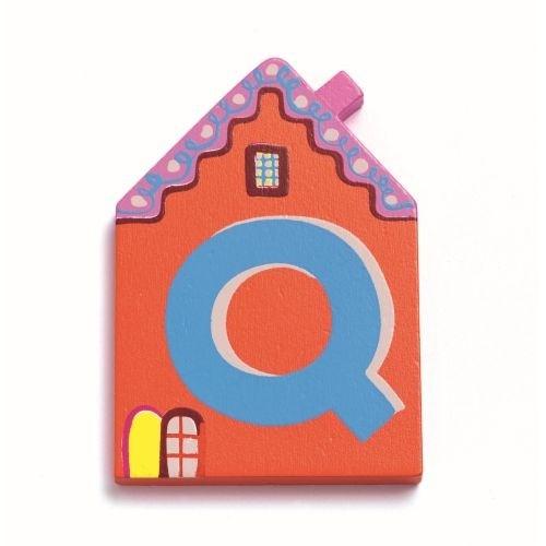 """Buchstabe Haus """"Q"""""""