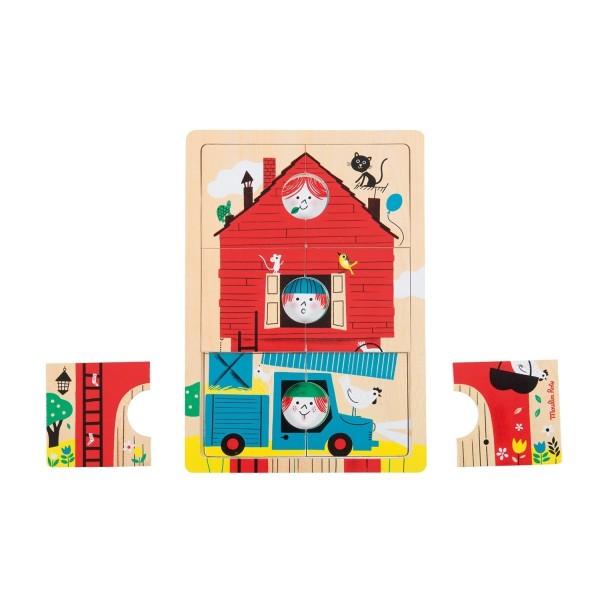 Schichtpuzzle 1,2,3 c''est nous les Bambins