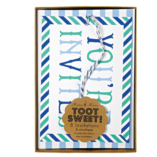 Toot Sweet Invitations