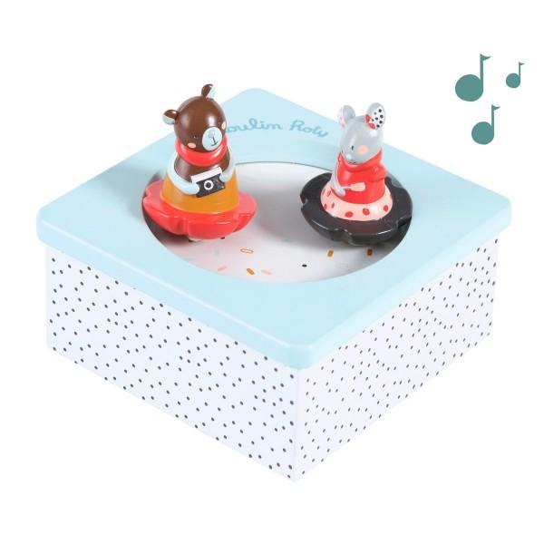 Spieluhr Bär und Maus Les jolis trop beaux