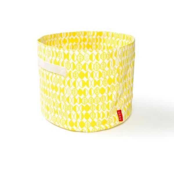 Baumwoll Korb in gelb