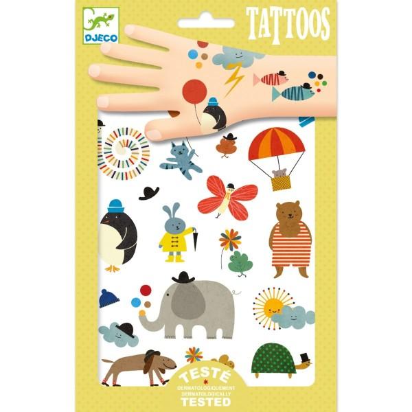 DJECO Tattoos: Süße Kleinigkeiten