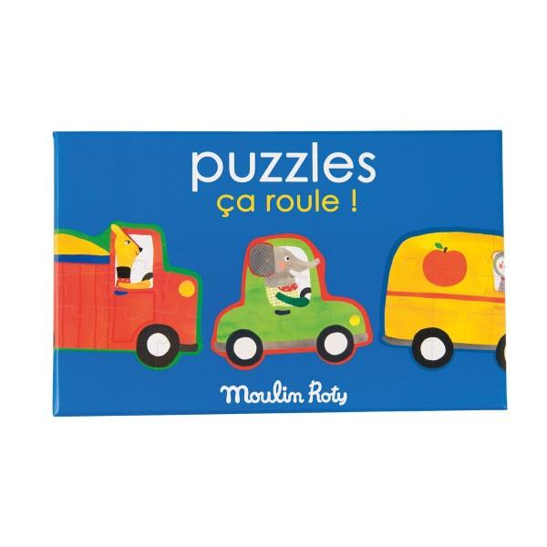 Puzzle es rollt Les Popipo