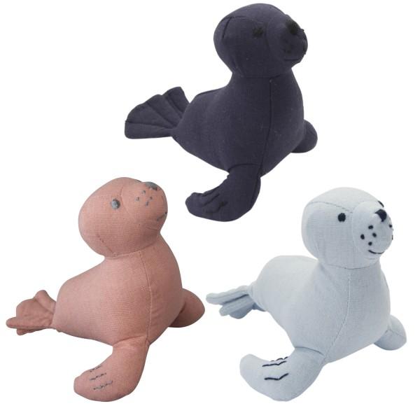 Kuscheltier Seehund klein, sortiert