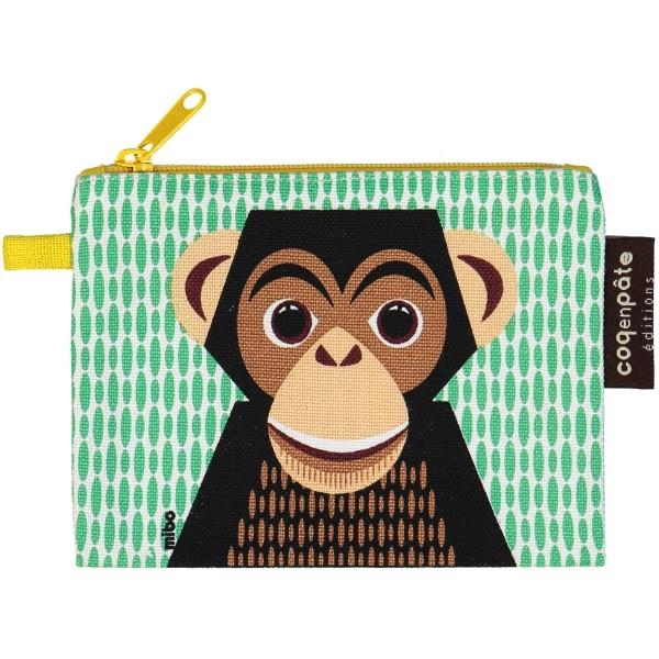 Geldbeutel - MIBO - Schimpanse