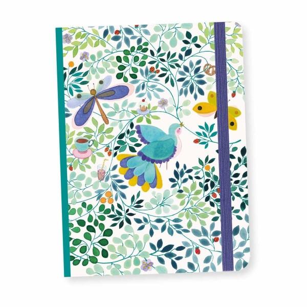 Notizbuch mit Gummiband Anna