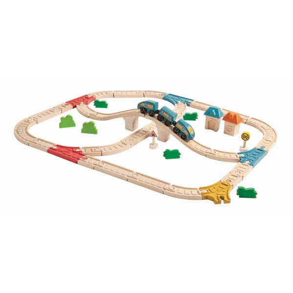 Plantoys Eisenbahnset