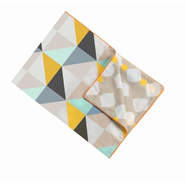 Kinderbettwäsche Checks: Kissenbezug (50x80 cm)