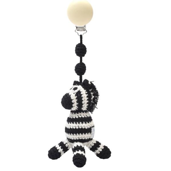 NATUREZOO DENMARK Tier mit Clip - Mr. Zebra