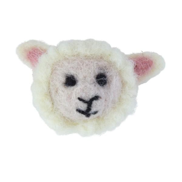 Anstecknadel Schaf