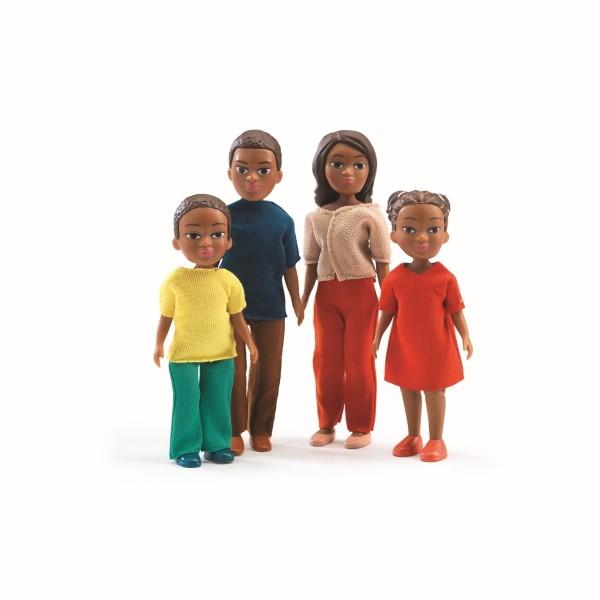 Puppenhaus Familie Milo und Lila